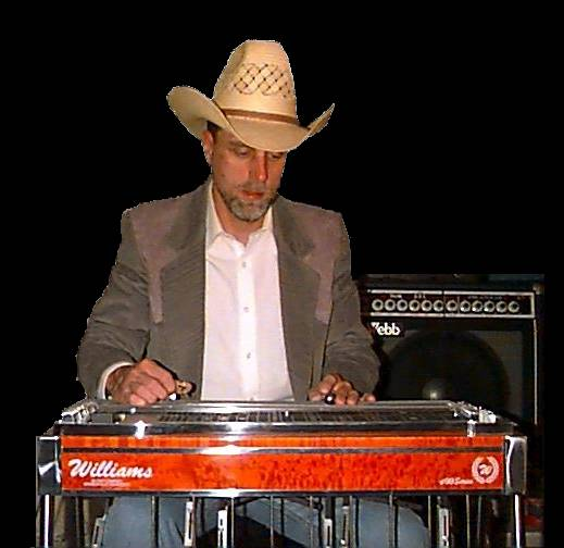 Greg with Williams Steel Guitar